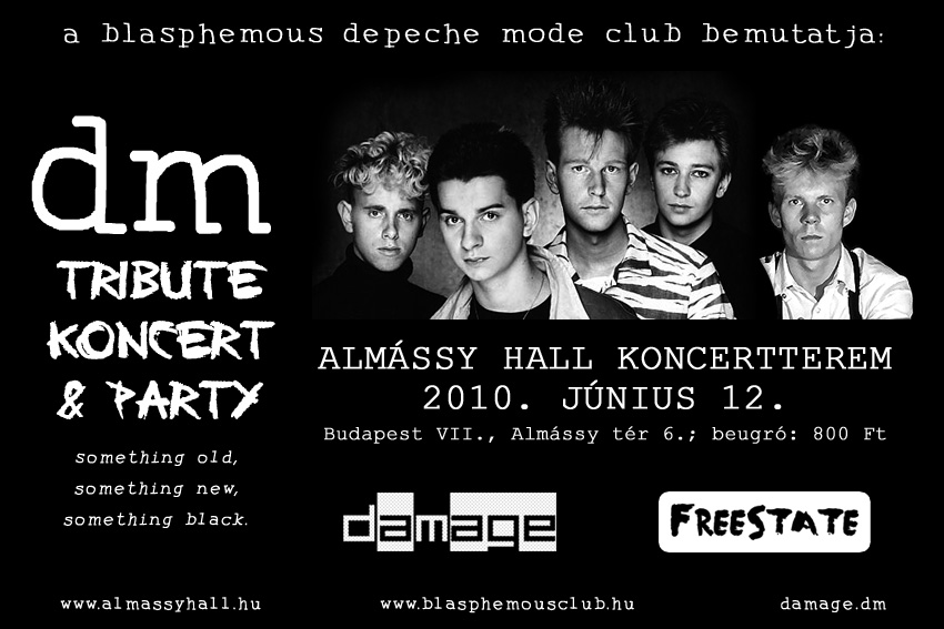 Blasphemous DM tribute koncert & party